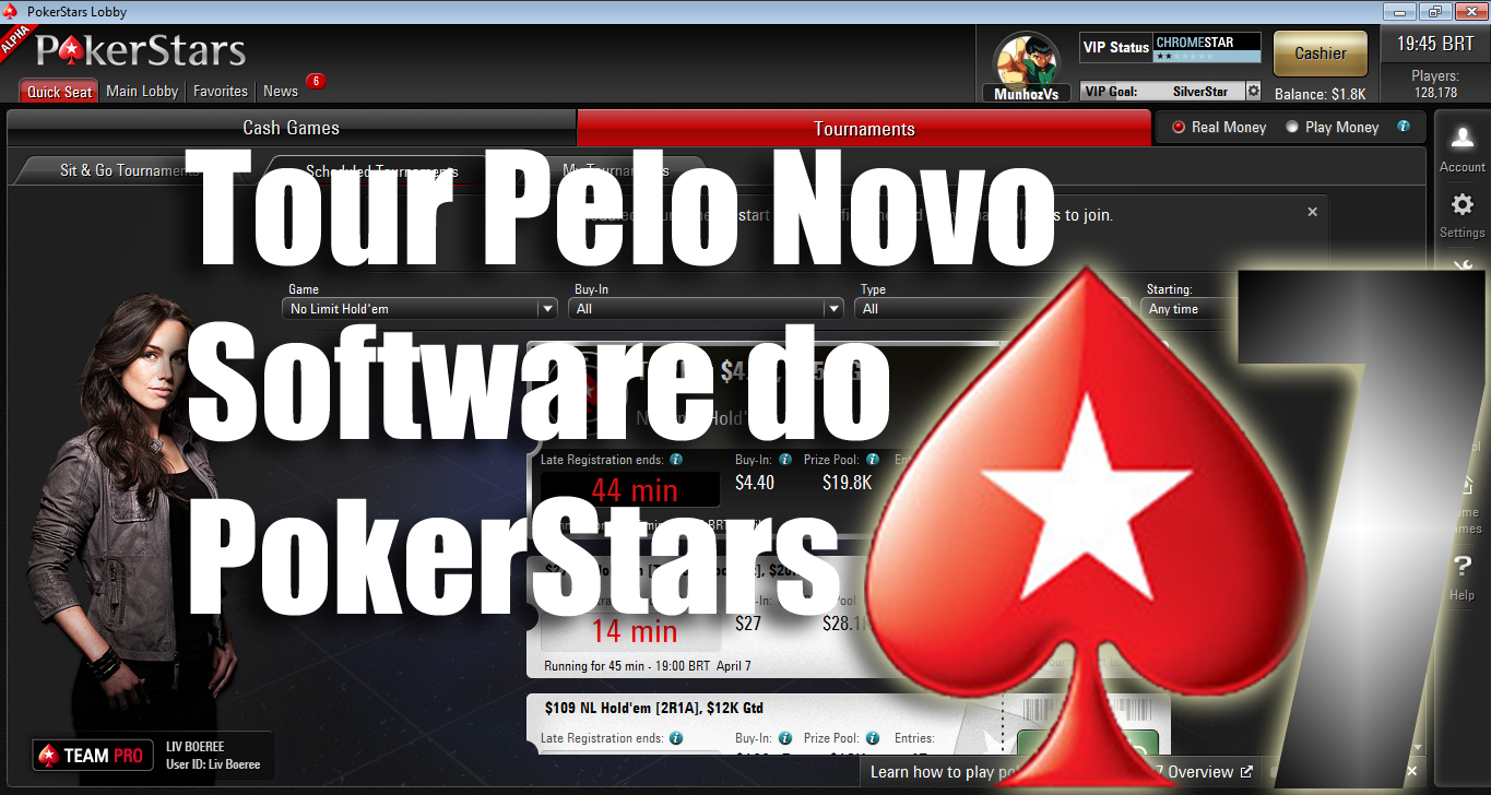 Photo of Tour pelo novo software do Pokerstars o PS7