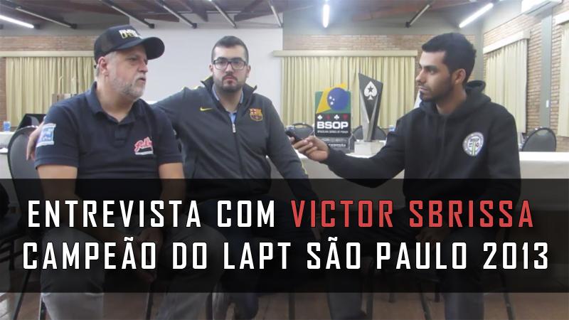 Photo of Entrevista Com Victor Sbrissa, Campeão do LAPT São Paulo 2013