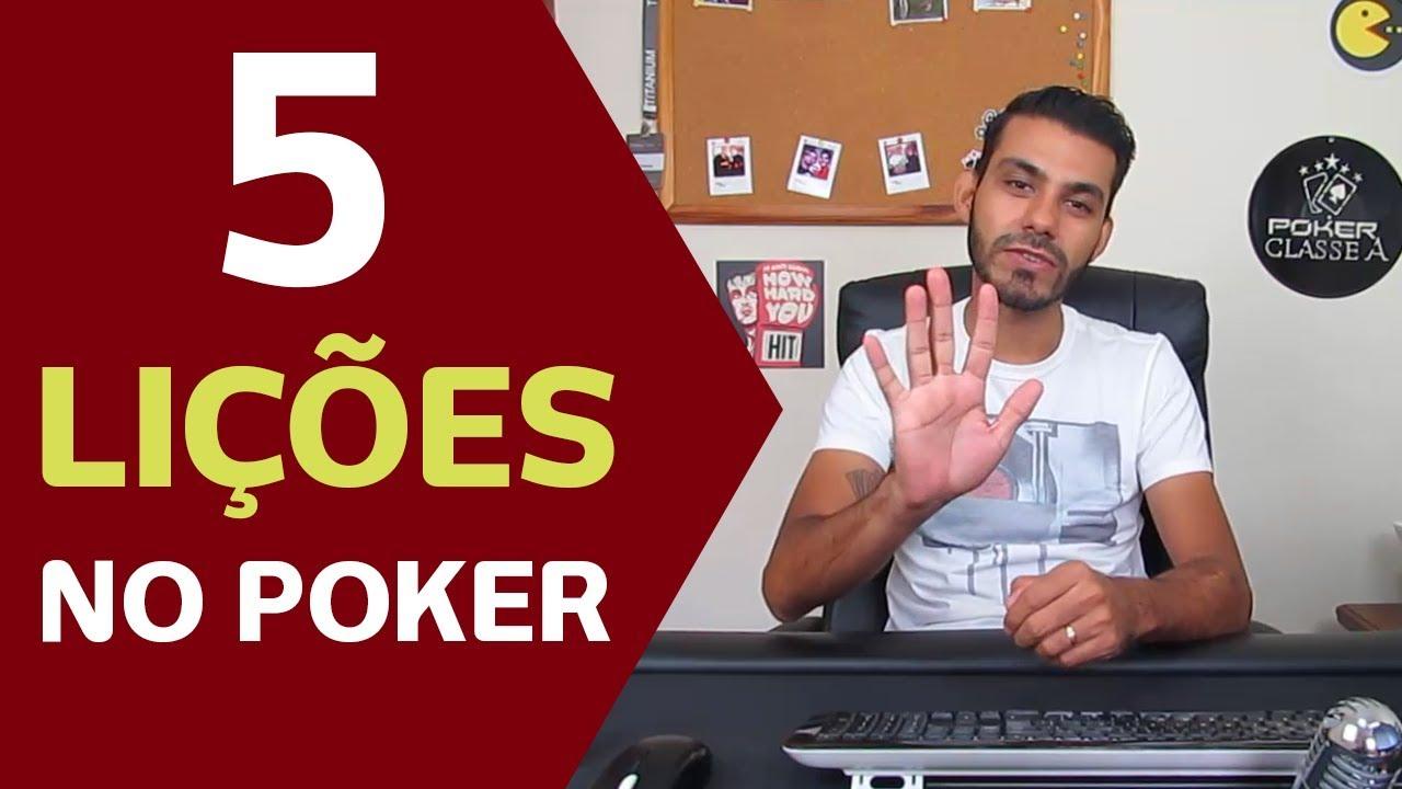 Photo of 5 Lições que aprendi no Poker em 2017!