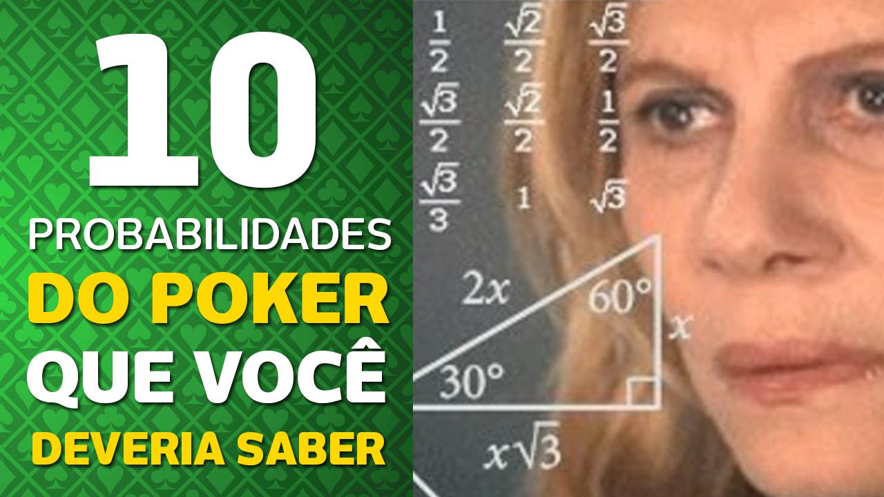 Photo of 10 Probabilidades do poker que você deveria saber.
